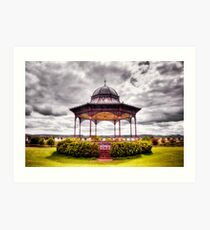 The Bandstand 2 Art Print