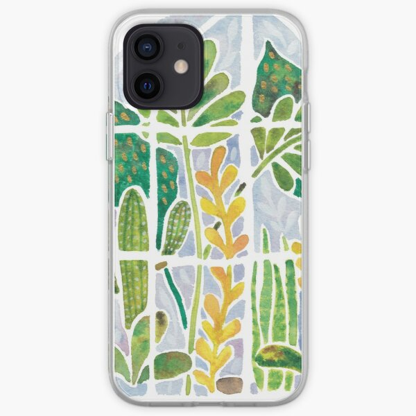 Watercolour Greenhouse iPhone Soft Case