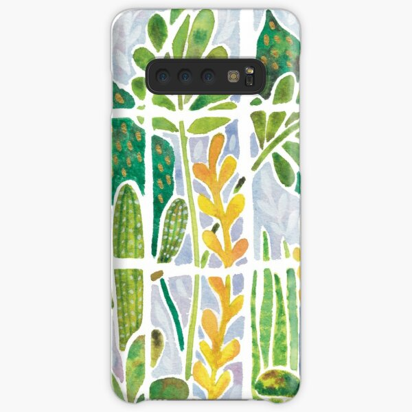 Watercolour Greenhouse Samsung Galaxy Snap Case