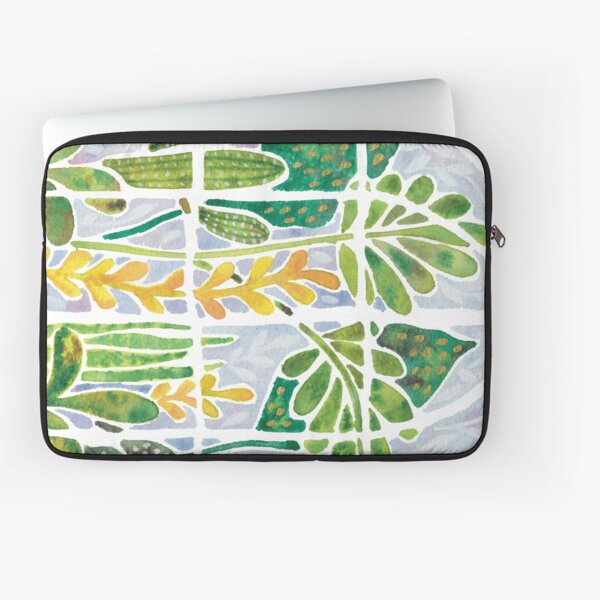 Watercolour Greenhouse Laptop Sleeve