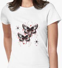 LOVE SPIDERS NOVA  Women's Fitted T-Shirt