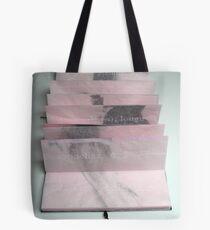 Toise n°1 (2) - Artist's book Tote Bag