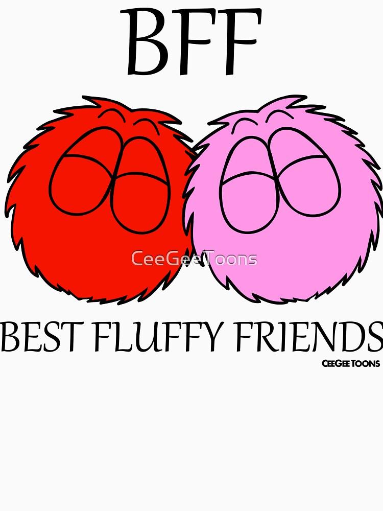Best Fluffy Friends - Fluffballs by CeeGeeToons