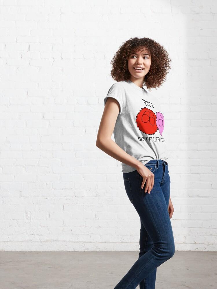 Alternate view of Best Fluffy Friends - Fluffballs Classic T-Shirt