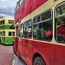 Bus Queue by John Lines