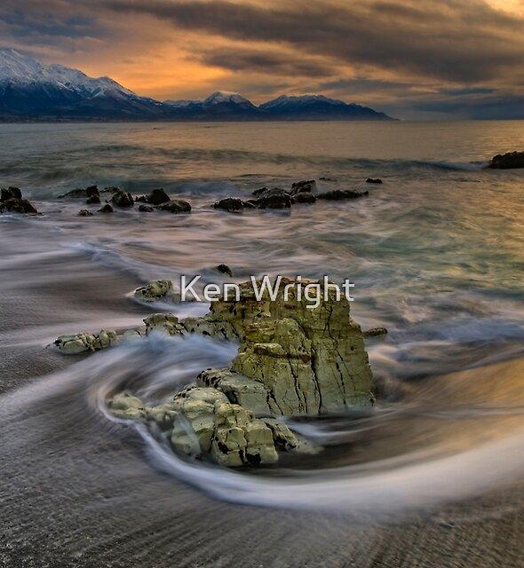 Kaikoura Limestone Drift by Ken Wright