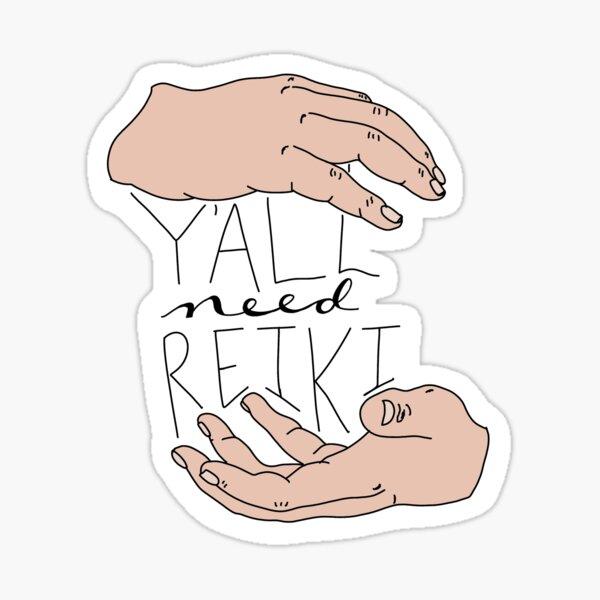 Todos necesitan Reiki Pegatina