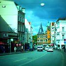 Holsten Gate, Lübeck by OLIVER W