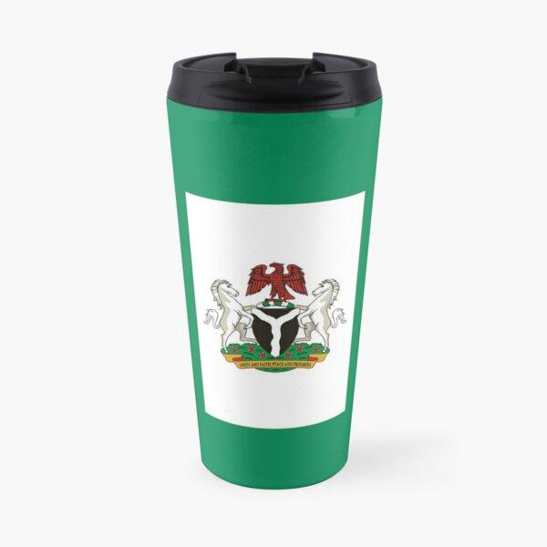Flag of the President of Nigeria Travel Mug