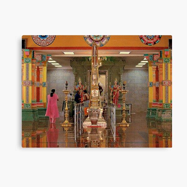 Indian Temple in Kuala Lumpur Canvas Print
