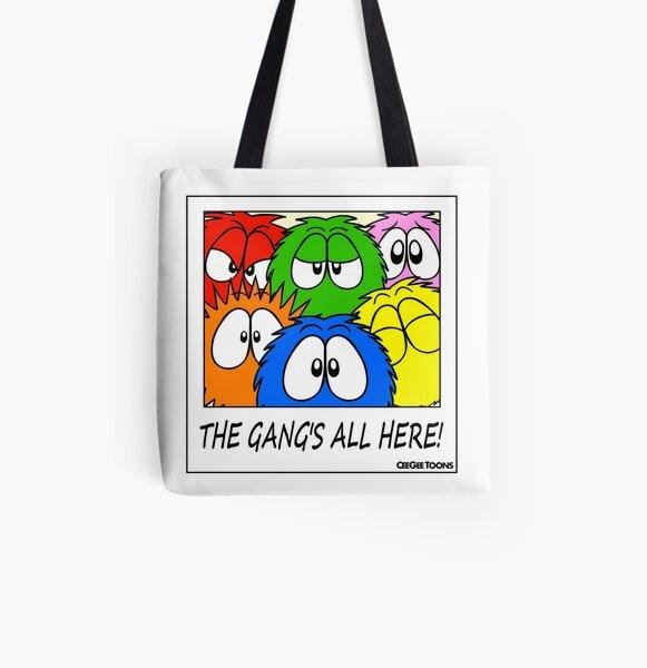 Group Shot - Fluffballs All Over Print Tote Bag