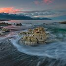 Kaikoura Limestone Blush by Ken Wright