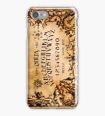 Ouija Phone iPhone Case/Skin