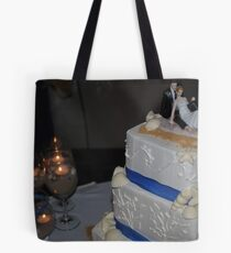 Love and Marriage and Cake Tote Bag