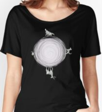 Inverted Marauders Moon Women's Relaxed Fit T-Shirt