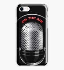 On The Air Retro Michrophone iPod /  iPhone 5 Case / iPhone 4 Case  / Samsung Galaxy Cases  iPhone Case/Skin