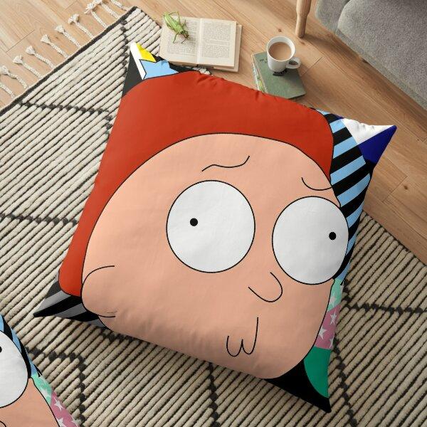 Morty geometric art Floor Pillow