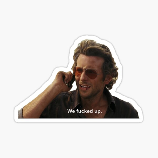 Phil - The Hangover Sticker
