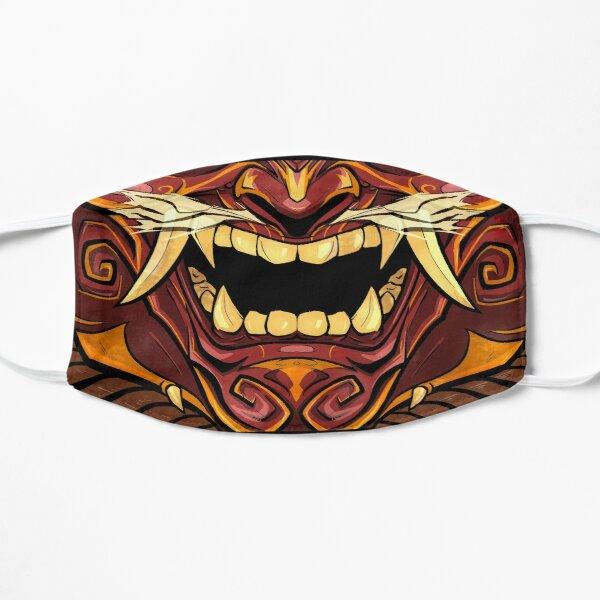 Menpo Oni Masque sans plis