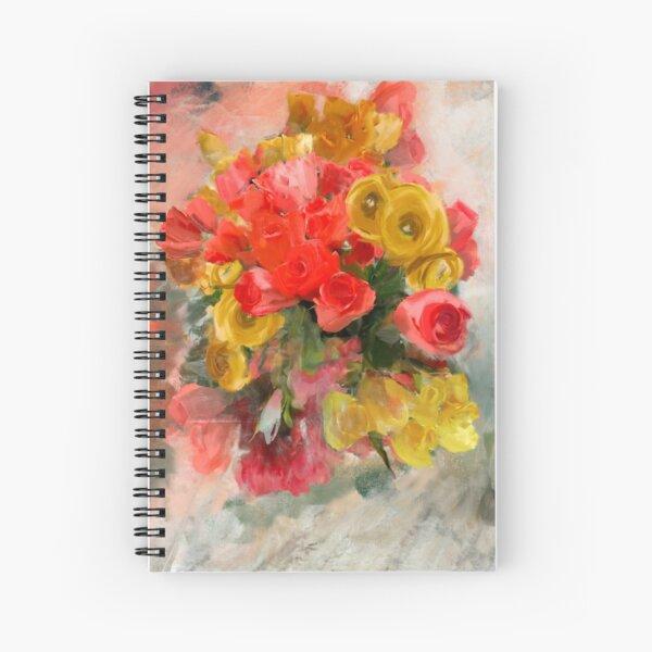 Rose Bunch Spiral Notebook