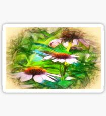Flower Impressions Sticker