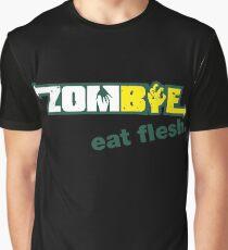 Subway Zombie - Eat Flesh Graphic T-Shirt