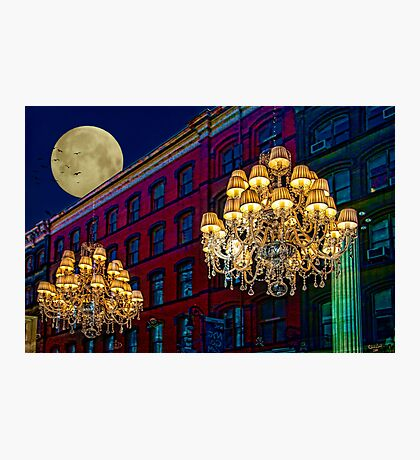 Street Lights Photographic Print