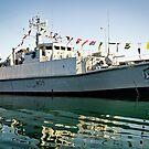 HMS Bangor by Chris Cardwell