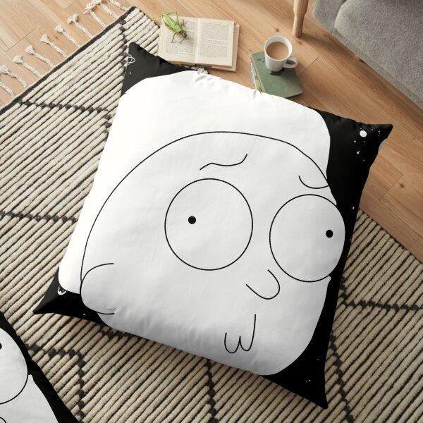 Morty Space art Floor Pillow