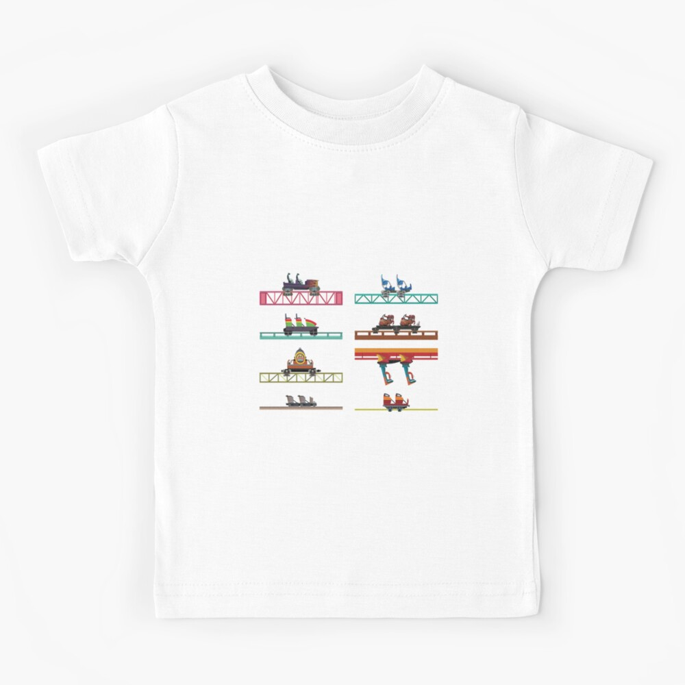 Knotts Berry Farm Coaster Cars Kids T-Shirt