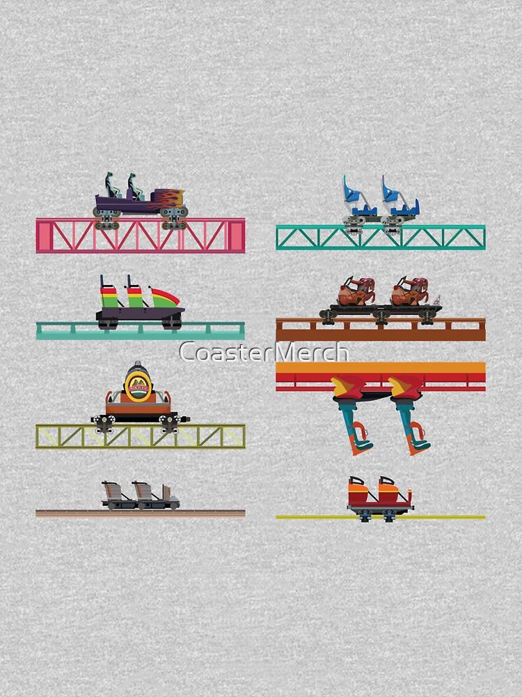 Knotts Berry Farm Coaster Cars by CoasterMerch