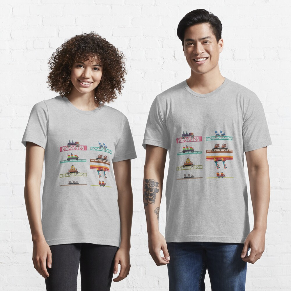 Knotts Berry Farm Coaster Cars Essential T-Shirt