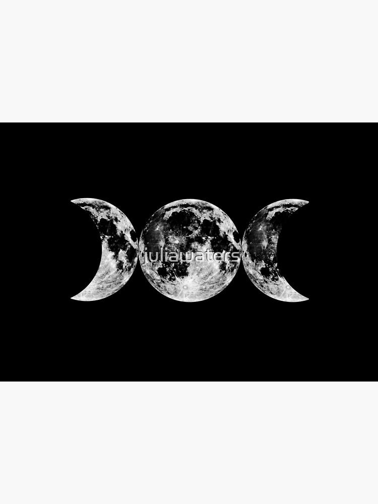 Triple Moon Goddess Symbol by juliawaters