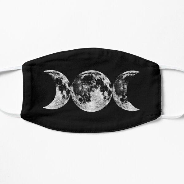 Triple Moon Goddess Symbol Flat Mask