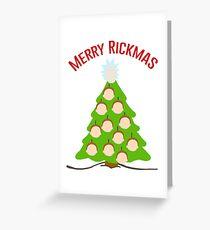 Merry Rickmas Greeting Card