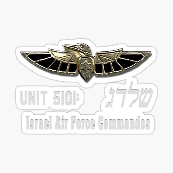 Shaldag Unit (Unit 5101) Logo For Dark Colors Sticker