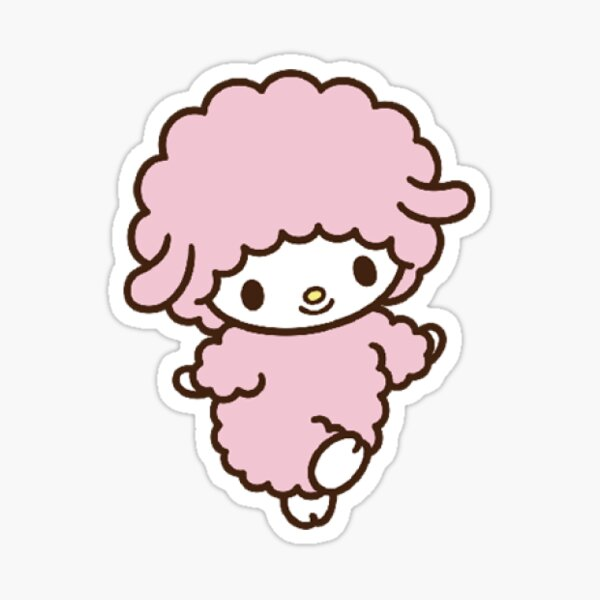 Sheep Sanrio Cute Sticker Sticker