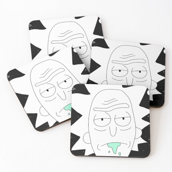 Rick space art Coasters (Set of 4)