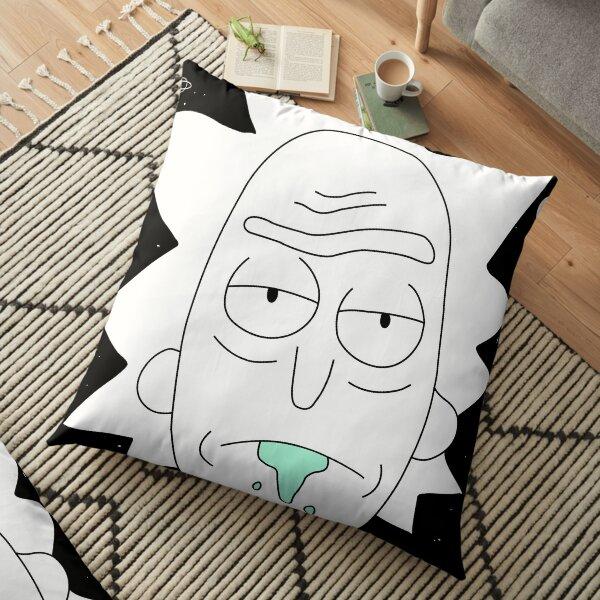Rick space art Floor Pillow