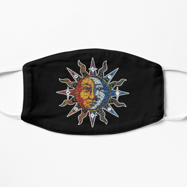 Celestial Mosaic Sun/Moon Mask