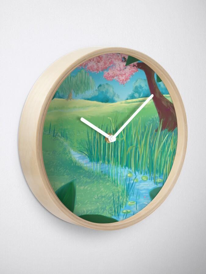 Alternate view of Spring Clock