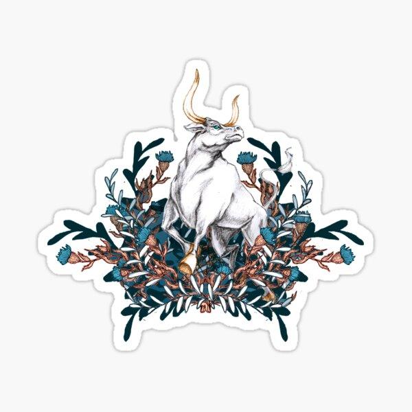 White Ox zodiac of year 2021 Sticker