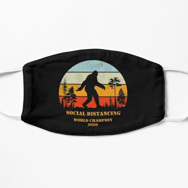 Social Distancing World Champion Bigfoot Yeti Sunset Mask