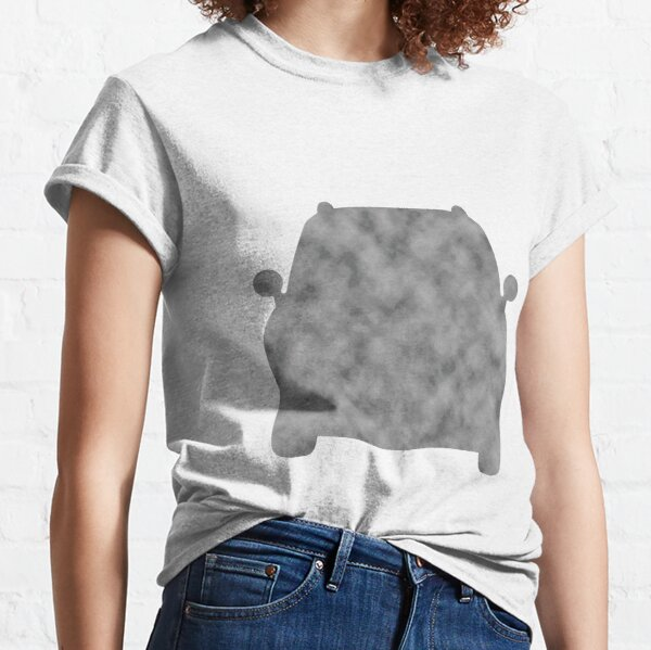 Simple Car in Light Gray Classic T-Shirt