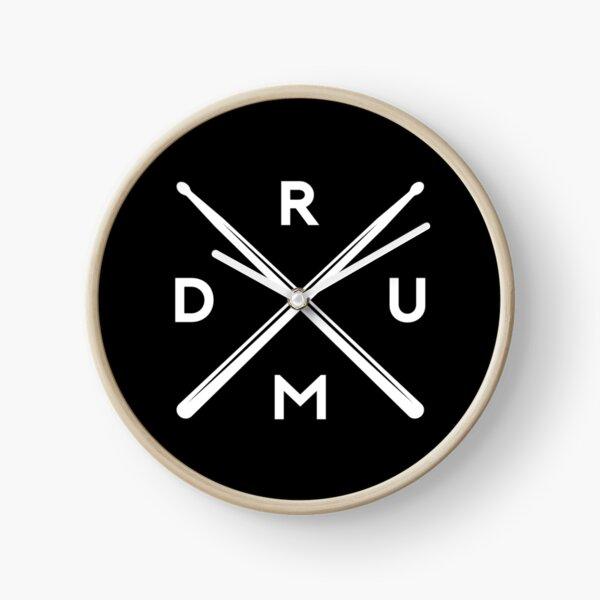 Drumsticks Drummer Clock