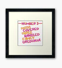 MOVE NUMBER 3 - Moss Covered 3 handled family Gredunza Framed Print