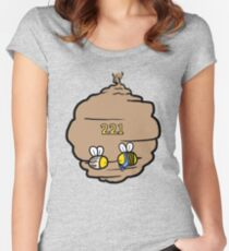 221 Bee Baker Street Women's Fitted Scoop T-Shirt