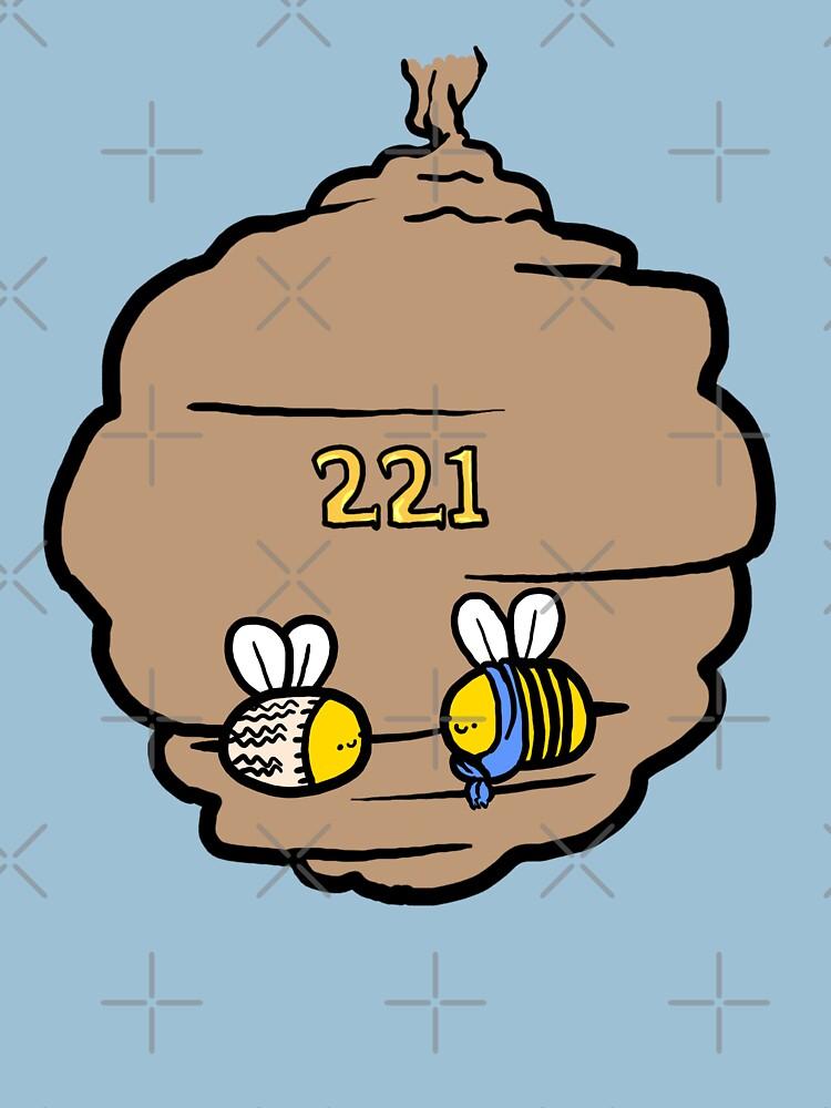 221 Bee Baker Street | Unisex T-Shirt