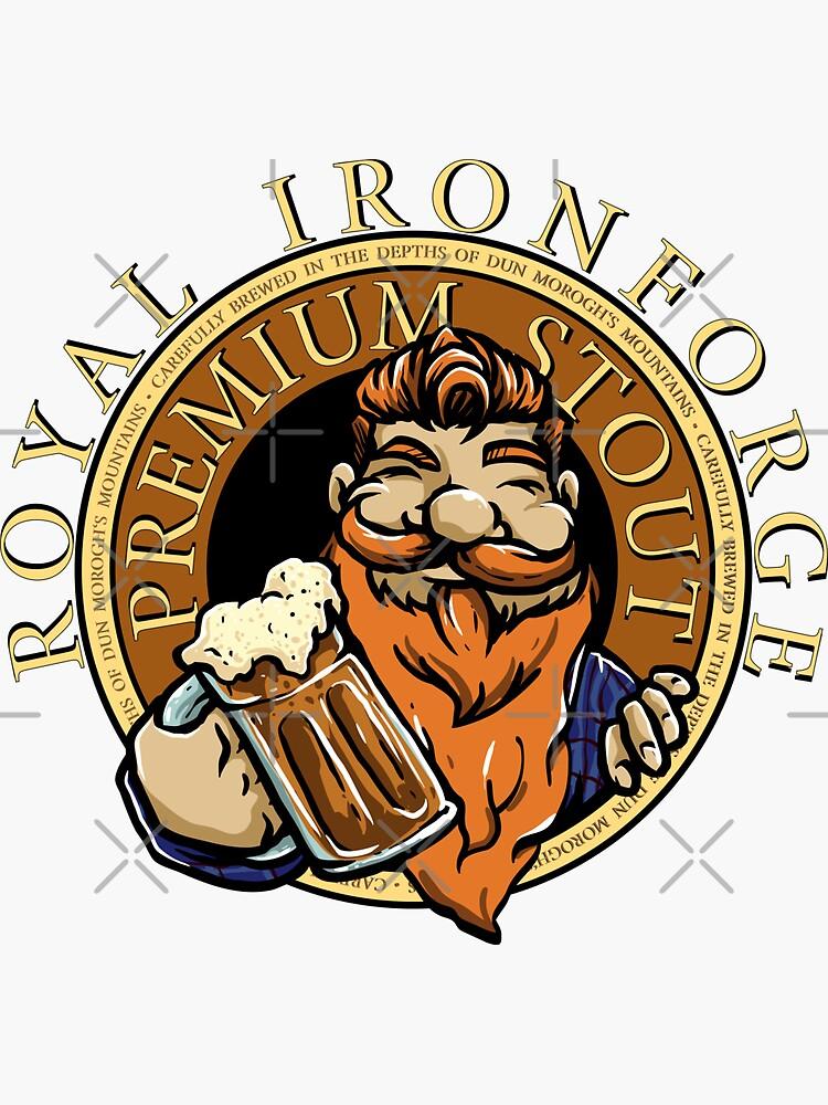 Royal Ironforge Premium Stout von brainbubbles