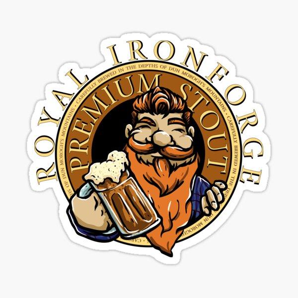 Royal Ironforge Premium Stout Sticker